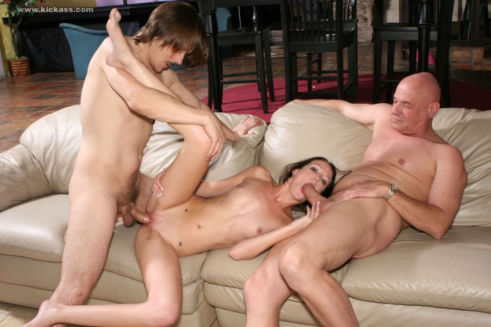 Hailey Young Threesome